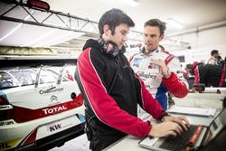Tom Chilton, Sébastien Loeb Racing, Citroën C-Elysée WTCC with the engineer