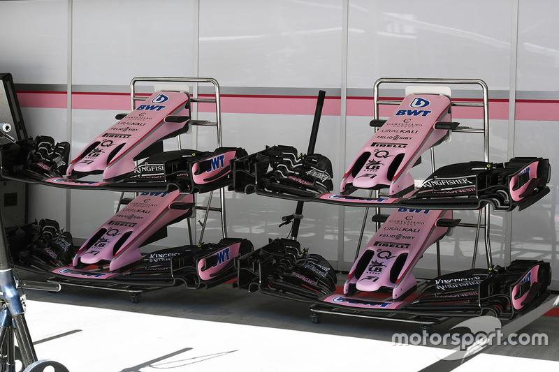 Передні антикрила Sahara Force India F1 VJM10