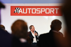 Martin Brundle on the Autosport Stage