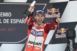 Podium : troisième place pour Jorge Lorenzo, Ducati Team