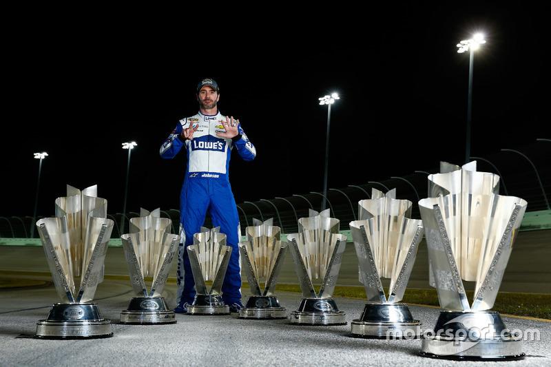10. Campeón Jimmie Johnson, Hendrick Motorsports Chevrolet