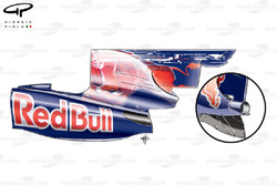 STR4 (Red Bull RB5) 2009 Nurburgring engine cover