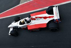 David Saelens, pilota della biposto F1 Experiences con Owen Wilson, Attore