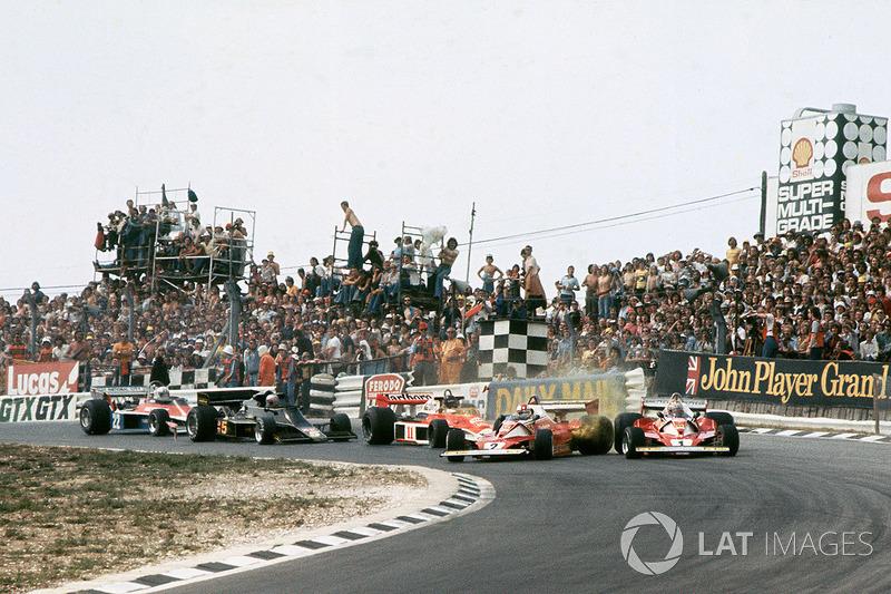 Clay Regazzoni, Ferrari 312T2 y el choque con Niki Lauda, Ferrari 312T2