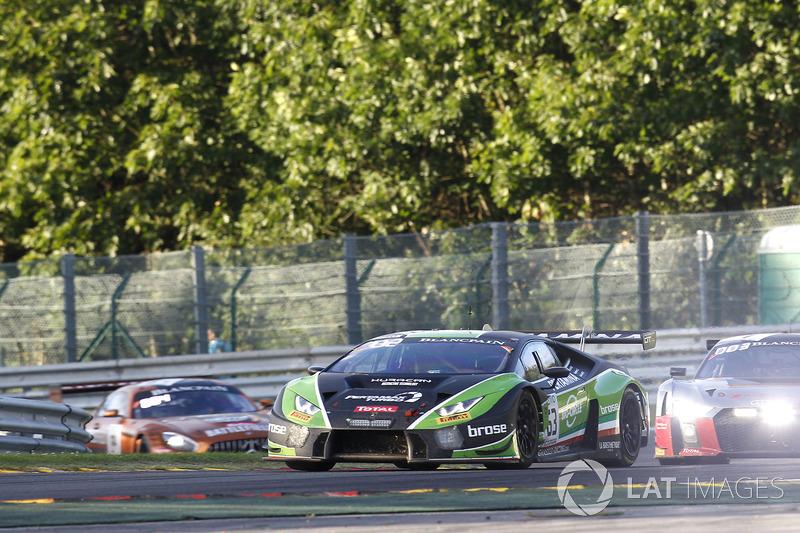 #63 GRT Grasser Racing Team Lamborghini Huracan GT3: Мірко Бортолотті, Крістіан Енгельхарт, Андреа Кальдраеллі