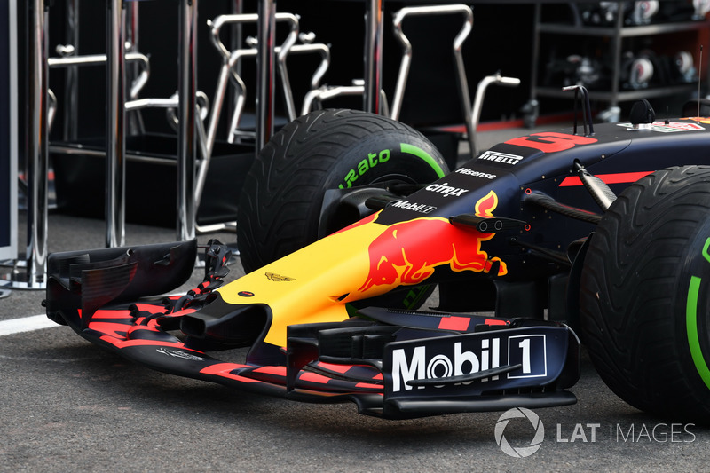 Red Bull Racing RB13, nose and front wing