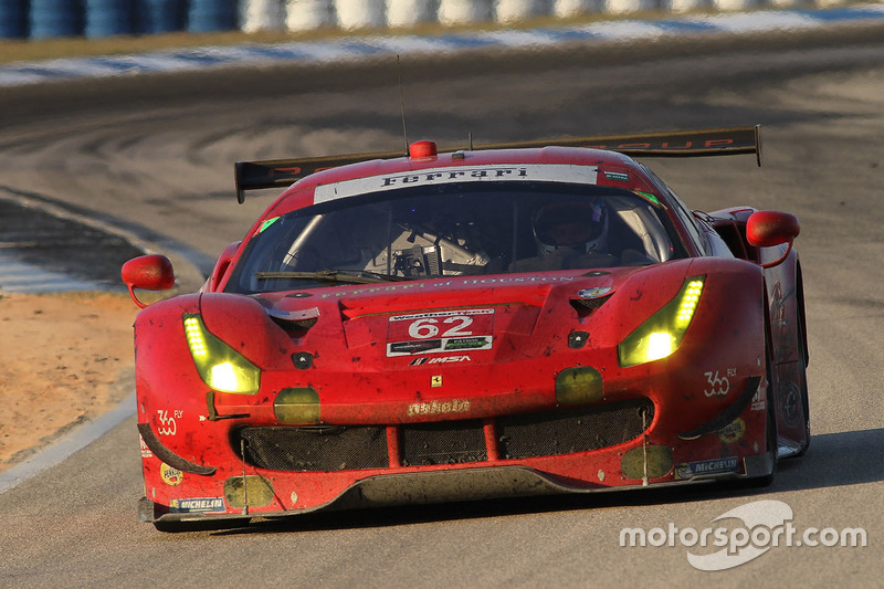 Photo ID: 1014764634 – At last a class podium finish in the Sebring 12 Hours for Fisichella with Risi Competizione.