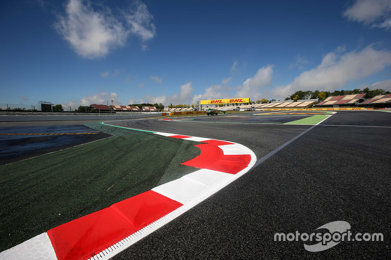 Track View and Kerb detail