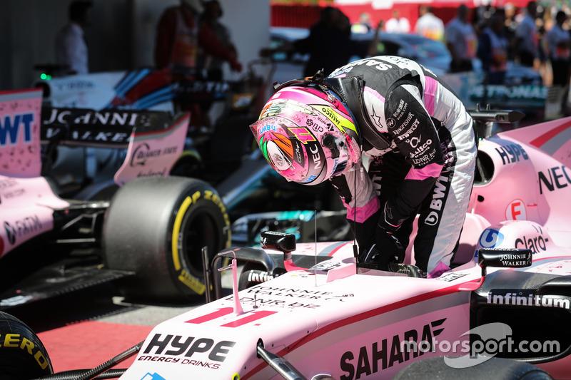 6 місце — Серхіо Перес, Force India. Умовний бал — 17,619