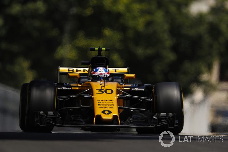 20. Джоліон Палмер, Renault Sport F1 Team RS17