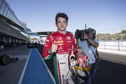 Charles Leclerc, PREMA Powerteam secures pole position