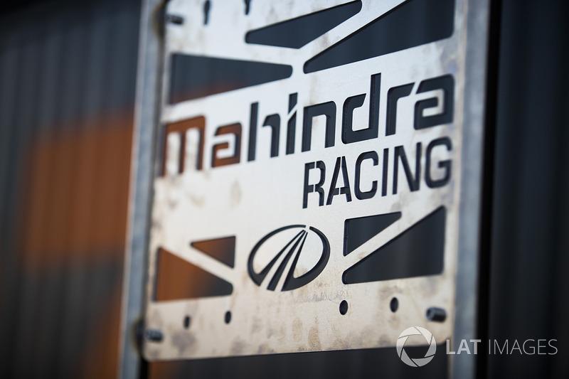 Mahindra Racing sign
