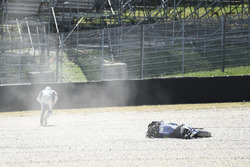 Crash: Maverick Viñales, Yamaha Factory Racing