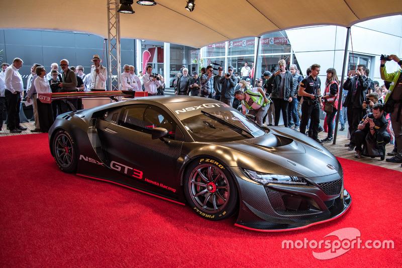 Presentado Honda NSX GT3