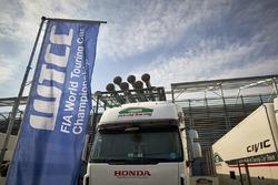 Renntransporter: Honda Racing Team JAS