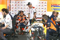 Marc Márquez, Repsol Honda Team, Cal Crutchlow, Team LCR Honda