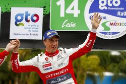 Winner Kris Meeke, Citroën World Rally Team