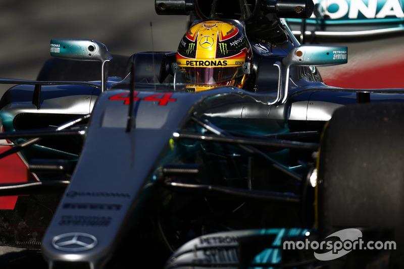 Льюіс Хемілтон, Mercedes F1 W08