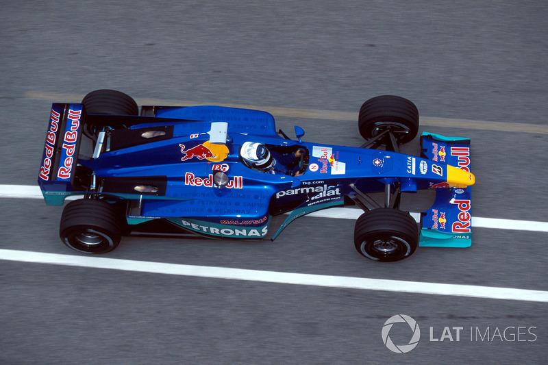 September 2000: Kimi Räikkönen