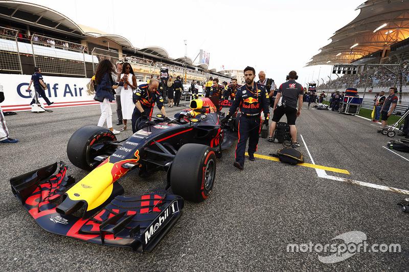 Naomi Cambell, Max Verstappen, Red Bull Racing RB13
