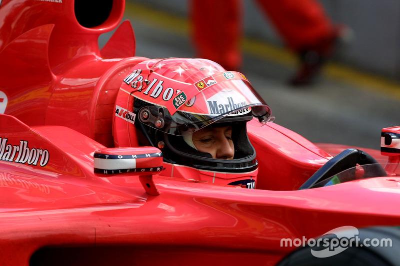 2001: Ferrari