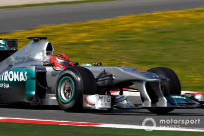Barcelona March test