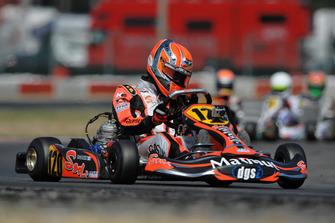 Pierre Gasly, 2010 CIK-FIA European KF3 Championships