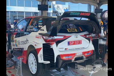 Toyota Yaris Wing Change