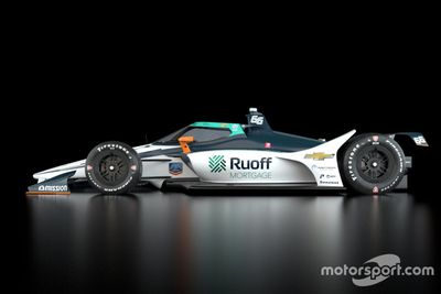 Arrow McLaren renk düzeni tanıtımı