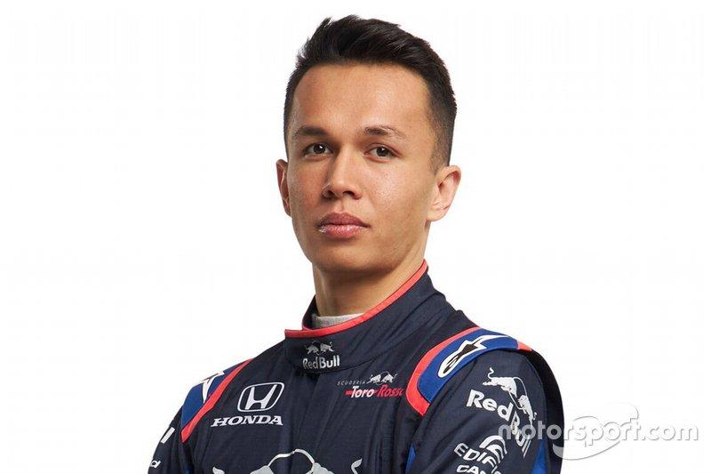 2019 - Alexander Albon, Scuderia Toro Rosso
