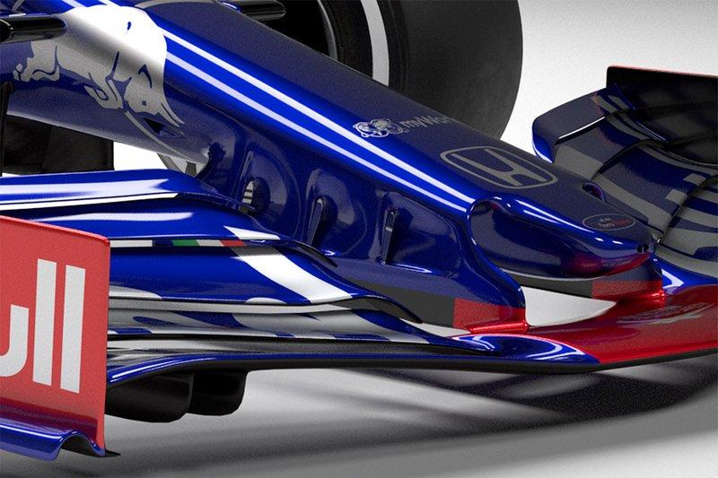 Scuderia Toro Rosso STR14 burun
