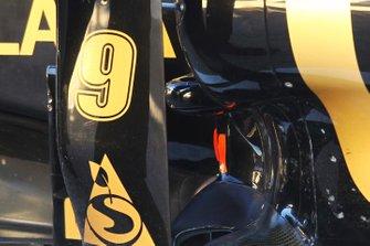Lotus Renault GP R31, scarico