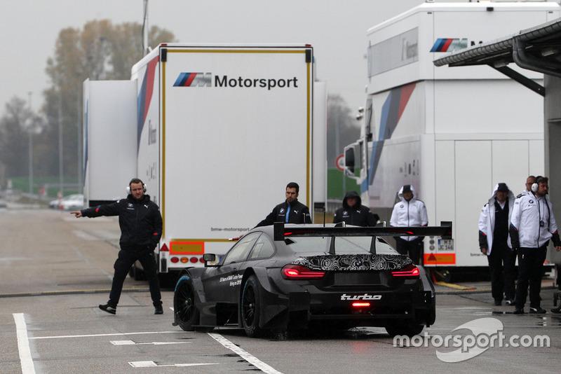 BMW M4 DTM, új turbómotor tesztelése