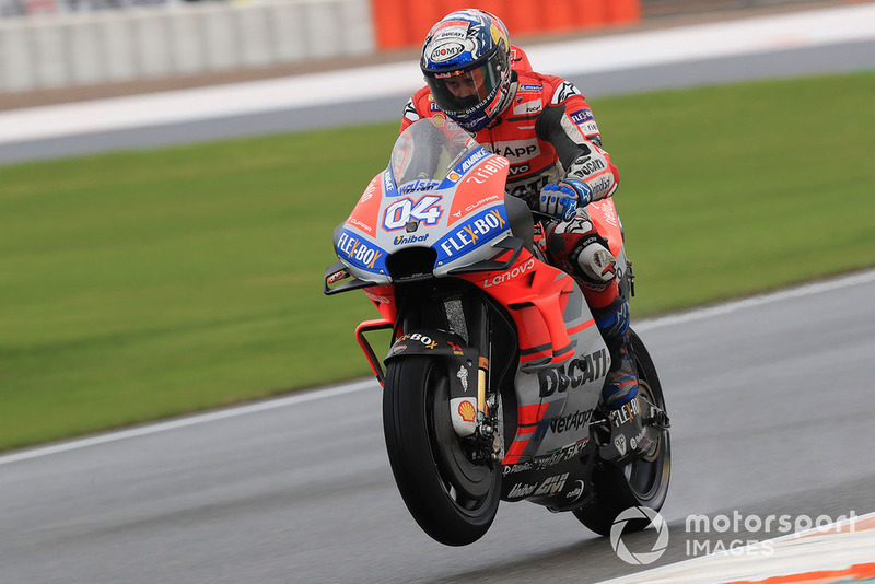 MotoGP Valencia: Andrea Dovizioso, Ducati Team