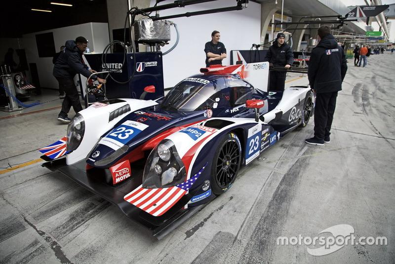 #22 United Autosports Ligier JS P2: Guy Cosmo, Patrick Byrne, Salih Yoluc
