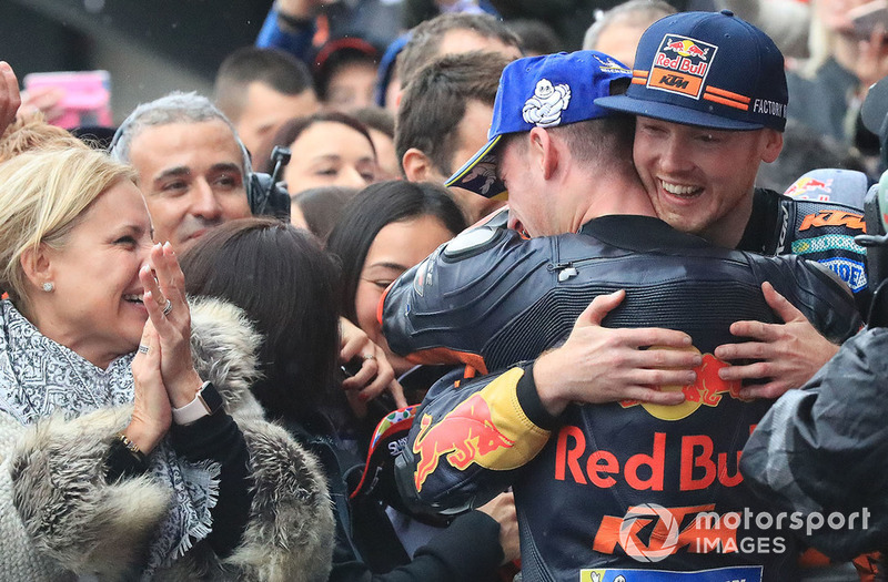 Tercero, Pol Espargaro, Red Bull KTM Factory Racing, Bradley Smith, Red Bull KTM Factory Racing