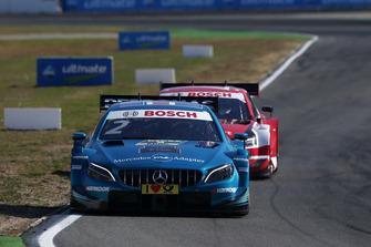 Gary Paffett, Mercedes-AMG Team HWA, Mercedes-AMG C63 DTM, René Rast, Audi Sport Team Rosberg, Audi RS 5 DTM