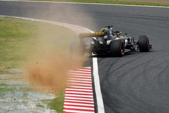 Авария: Нико Хюлькенберг, Renault Sport F1 Team RS18