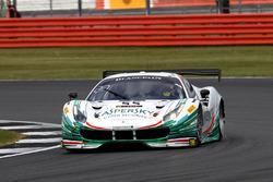 #55 Kaspersky Motorsport, Ferrari 488 GT3: Giancarlo Fisichella, Marco Cioci, James Calado