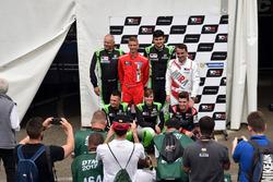 All Hungarian drivers; Csaba Tóth, Zengo Motorsport, SEAT León TCR, Márk Jedlóczky, Unicorse Team, Alfa Romeo Giulietta TCR, Daniel Nagy, Zengo Motorsport, SEAT León TCR, Norbert Michelisz, M1RA, Honda Civic TCR, Ferenc Ficza, Zengo Motorsport, SEAT León T