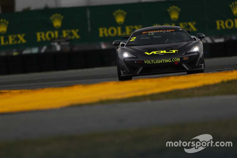 #2 Automatic Racing/VOLT Racing McLaren GT4: Alan Brynjolfsson, Chris Hall