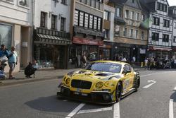 #37 Bentley Team Abt, Bentley Continental GT3: Christopher Brück, Nico Verdonck, Christian Menzel, Christer Jöns