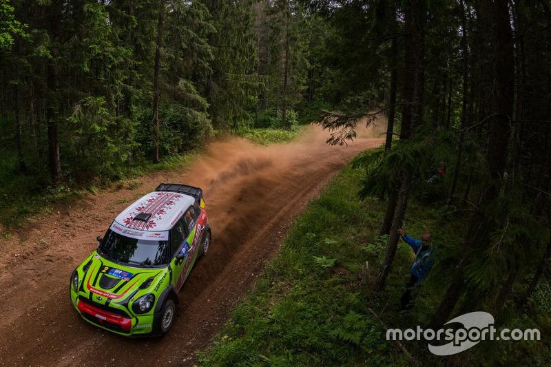 Валерій Горбань, Сергій Ларенс, Mini JCW WRC, Eurolamp WRT