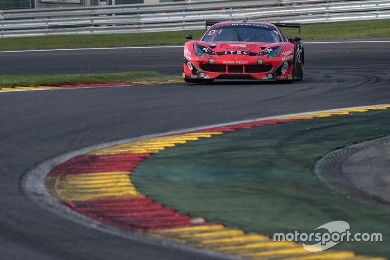 22. #888 Kessel Racing, Ferrari 488 GT3