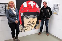 BD Mania 2016, Véronique Siffert et Philippe Siffert, les deux enfants de Jo Siffert