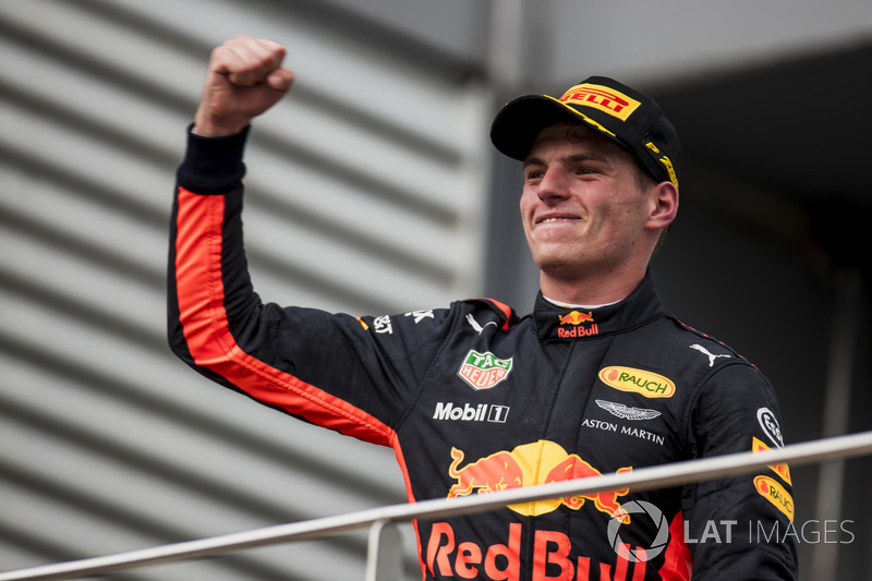 Max Verstappen, Red Bull Racing, race winner