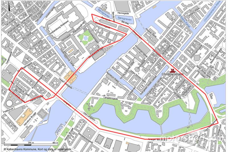 Copenhagen GP 2020 map