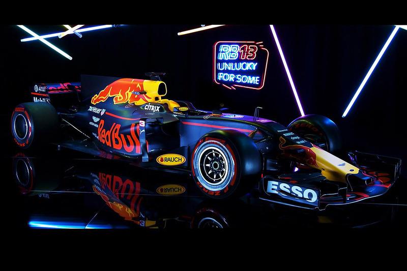 5. Red Bull RB13