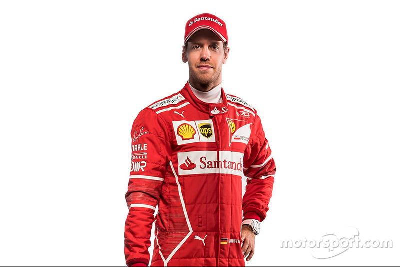 #5 Sebastian Vettel, Ferrari  (Contrato hasta final de 2020)