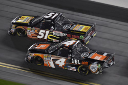 Christopher Bell, Kyle Busch Motorsports, Toyota; Myatt Snider, Kyle Busch Motorsports, Toyota